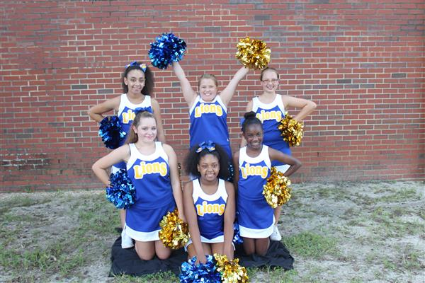 Junior Varsity Cheerleaders