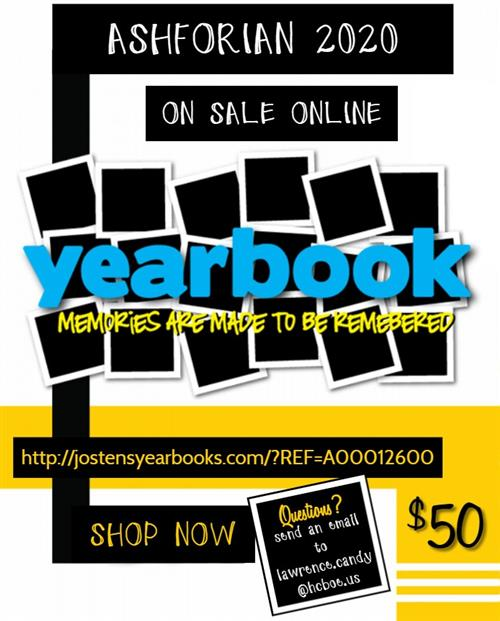 Yearbook Online Sale Flyer