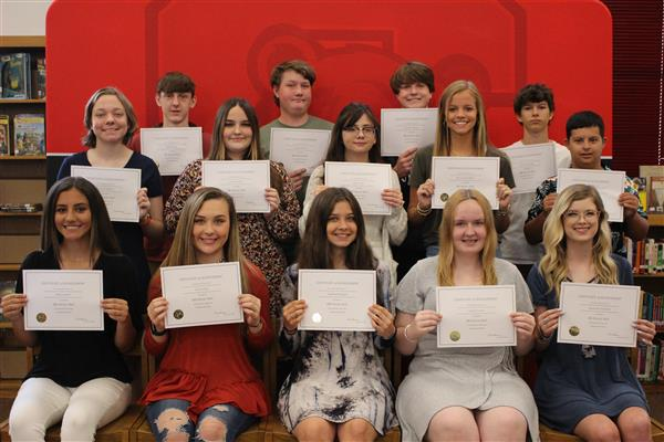 10th Grade AB Honor Roll