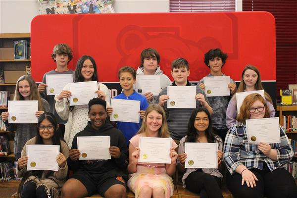 7th Grade AB Honor Roll