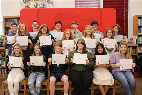 9th Grade AB Honor Roll